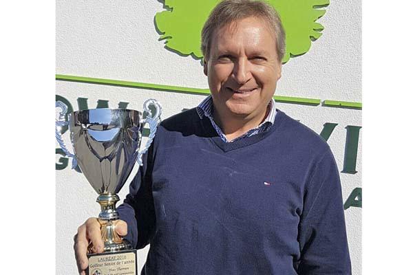 Yves Therrien a connu une autre excellente saison... (fournie par l'Association régionale de golf des Cantons-de-l'Est)