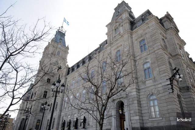 Le Parlement de Québec... (Archives, Le Soleil)