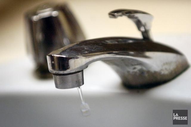 Des citoyens de Bromont seront prochainement privés d'eau... (archives La Presse)