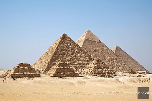 La pyramide de Khéopsest la plus grande des... (Photothèque Le Soleil)