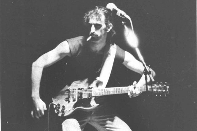 Le 9 décembre 1975, c'était un Zappa particulièrement... (Archives Le Soleil)