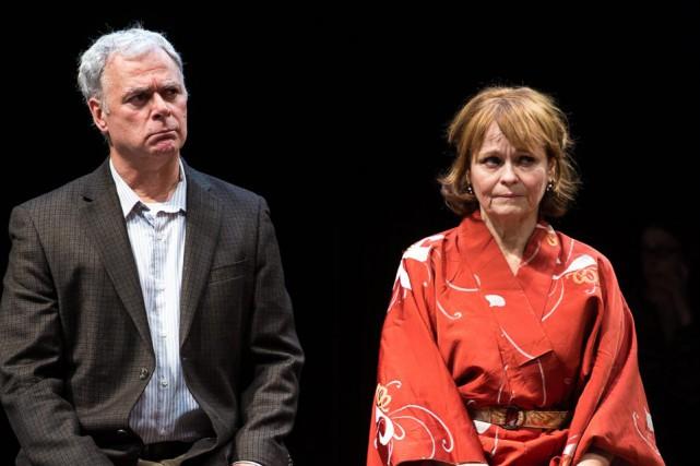 Dans Tribus, Jacques L'Heureux et Monique Spaziani campent... (Photo courtoisie)