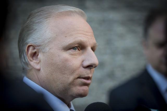 Le chef du Parti québécois Jean-François Lisée... (PHOTO OLIVIER JEAN, LA PRESSE)