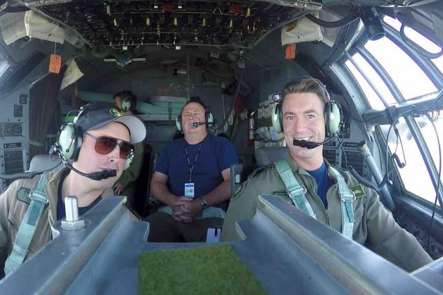 Détenteur d'un doctorat en physique et pilote militaire,... (Fournie par Daniel Desjardins)
