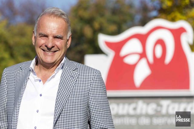 Alain Bouchard, président fondateur de Couche-Tard, est au... (La Presse, François Roy)