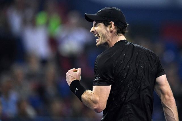 Andy Murray avaitdéjà remporté le tournoi de Shanghai... (PHOTO JOHANNES EISELE, AFP)