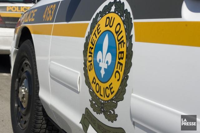 La Sûreté du Québec enquête sur un cas de rage au volant où un automobiliste a... (PHOTO FRANÇOIS ROY, ARCHIVES LA PRESSE)