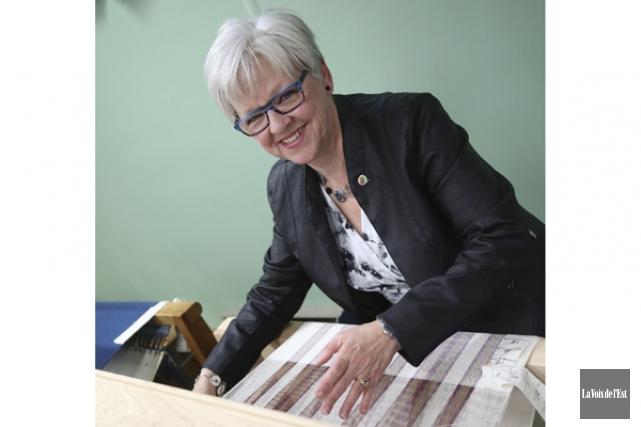 Diane Archambault a une véritable passion pour le... (Julie Catudal, La Voix de l'Est)