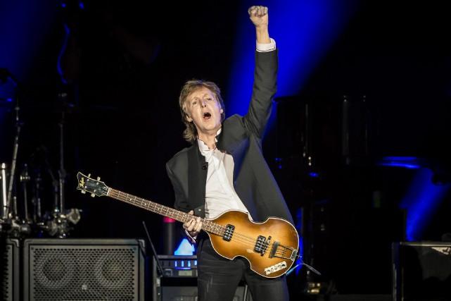 Paul McCartney est l'un des nombreux artistes qui... (Photo AP, Carlos Gonzalez)
