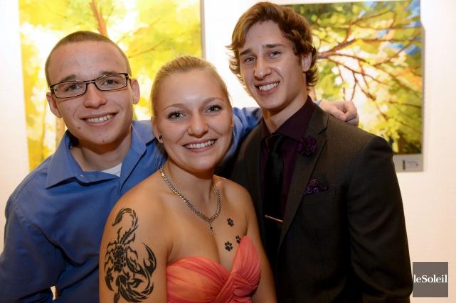 Tous trois âgés de 19 ans,Cédric Hamel,Marianne Aubichon... (Le Soleil, Erick Labbé)