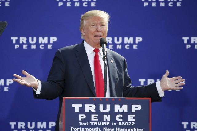 Donald Trump, candidat républicain aux élections présidentielles américaines... (Photo AFP)