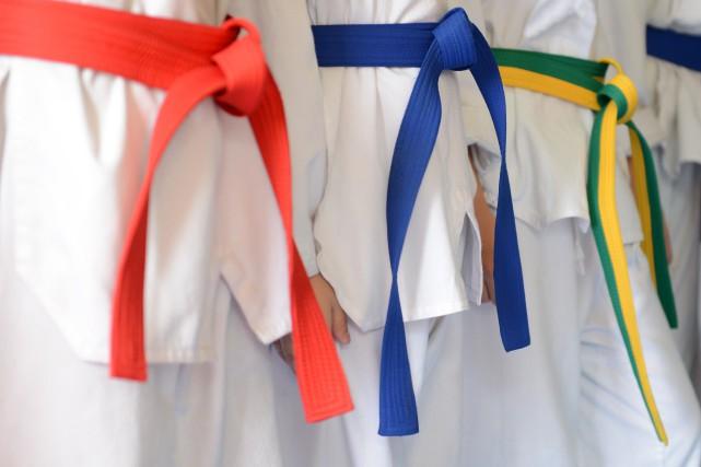 Bien des étapes restent à franchir, mais plusieurs judokas du... (Photo d'archives)