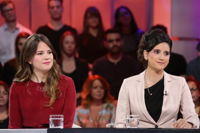 Toutes deux victimes d'agression sexuelle,Ariane Litalien etMélanie Lemay... (fournie par ICI Radio-Canada Télé)