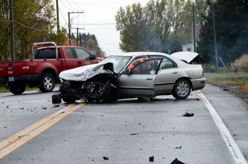 Une collision a fait six blessés dont trois... (Photo collaboration spéciale Éric Beaupré)