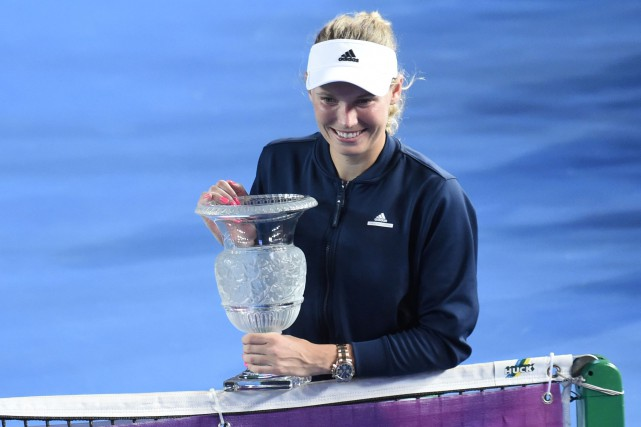Caroline Wozniacki a remporté le tournoi de Hong... (Photo Anthony Wallace, AFP)