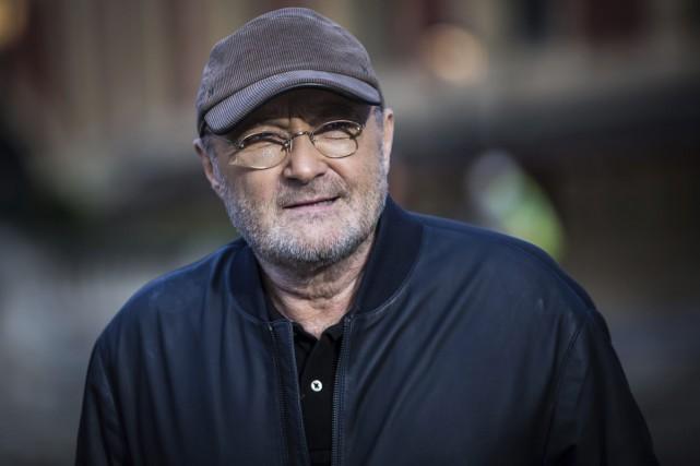 Le chanteur britannique Phil Collins, l'un des plus populaires des années 1980,... (PHOTO AP)