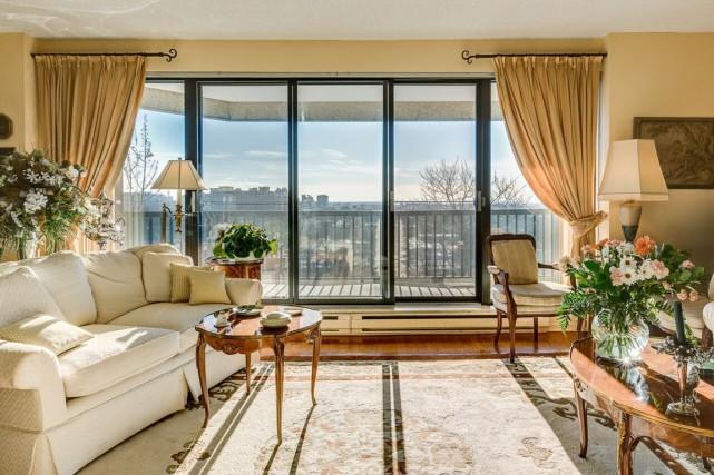 Cet appartement de Côte-des-Neiges a été vendu 820000$... (PHOTO FOURNIE PAR LA COURTIÈRE)