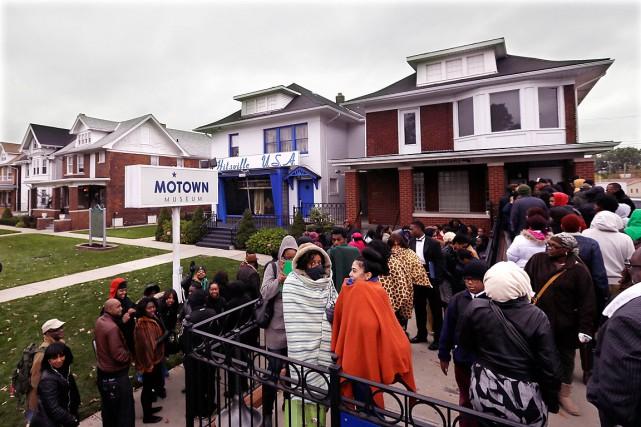 Le Musée Motown est situé dans la maison... (Photo Carlos Osorio, archives AP)