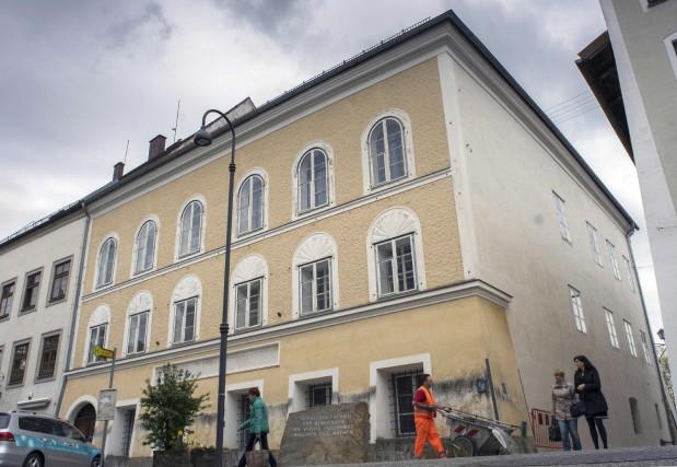 La maison où est né Adolf Hitler, à... (AFP, Joe Klamar)