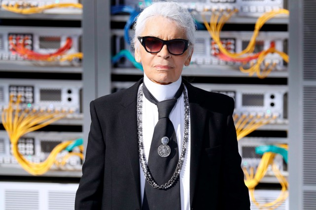 Karl Lagerfeld... (PHOTO AFP)