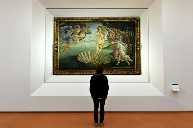 La naissance de Vénus de Sandro Botticelli... (PHOTO AFP)