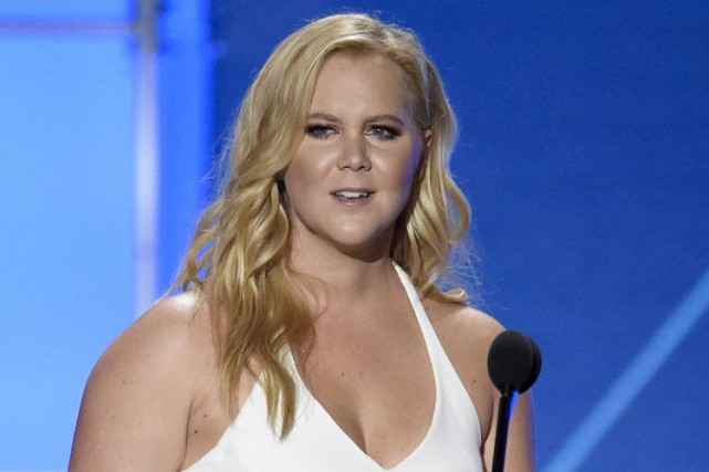 Amy Schumer sera de passage au Centre Bell,... (ARCHIVES AP)