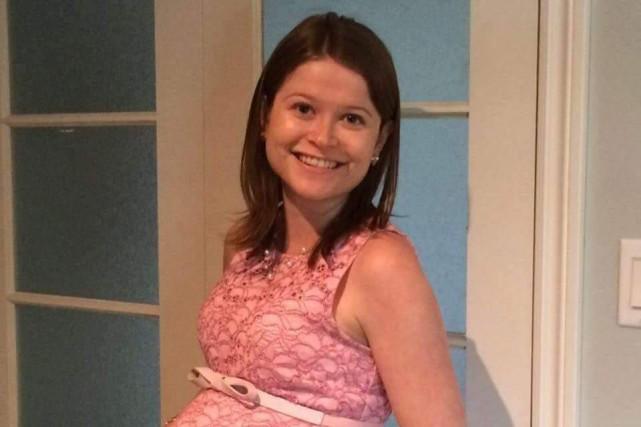 Éloïse Dupuis, une jeune mère de 27 ans... (tirée de Facebook)