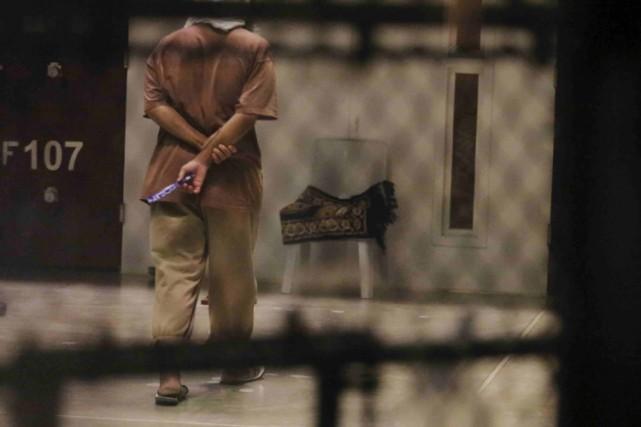 Mohamedou Ould Slahi était détenu à Guantanamo sans... (PHOTO REUTERS)