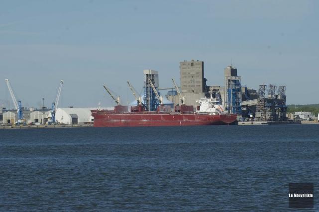 Le port de Trois-Rivières.... (Sylvain Mayer, Le Nouvelliste)