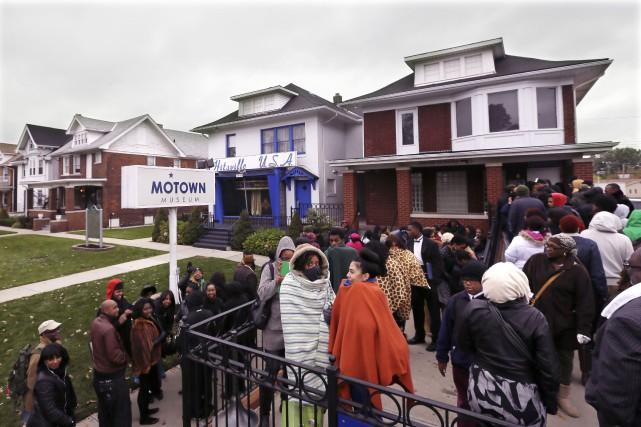 Le Musée Motown de Detroita indiqué que le... (AP, Carlos Osorio)