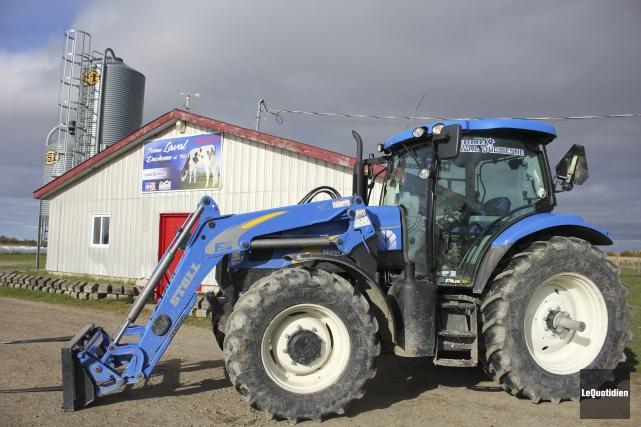 L'agriculteur, Laval Duchesne, est décédé vendredi soir dernier.... (Photo Le Quotidien, Isabelle Tremblay)