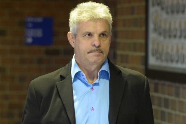Sylvain Girard est accusé de conduite dangereuse causant... (Sylvain Mayer, Le Nouvelliste)