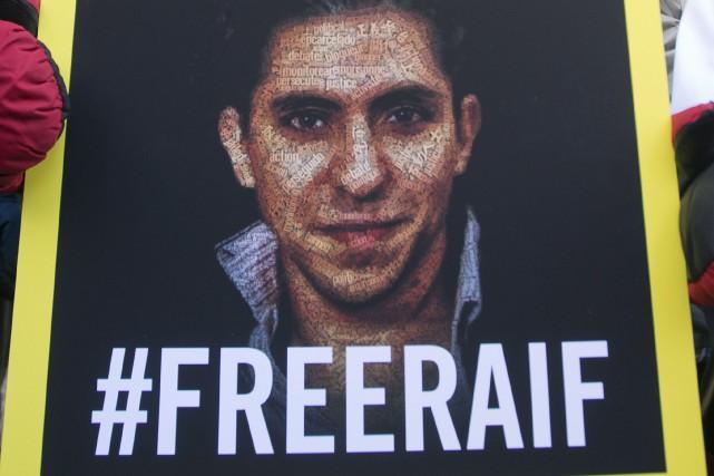 Une photo du blogueur Raif Badawi.... (Photo Ryan Remiorz, archives La Presse canadienne)