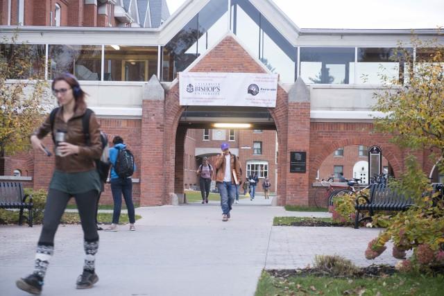 Bishop's compte actuellement au total 2700 étudiants, à... (Spectre Média, Julien Chamberland)