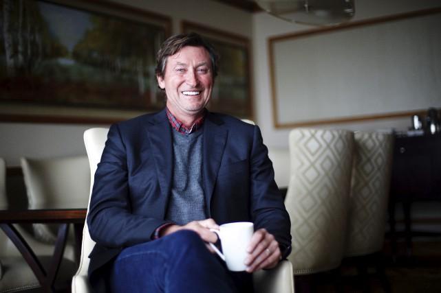 Wayne Gretzky a été si impressionné par Connor... (La Presse canadienne, Michelle Siu)