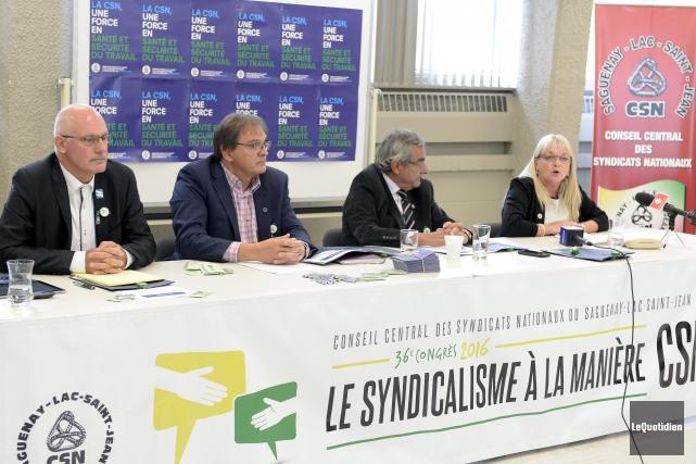 Guy Lorion, vice-président de la Fédération de la... (Photo Le Quotidien, Jeannot Lévesque)