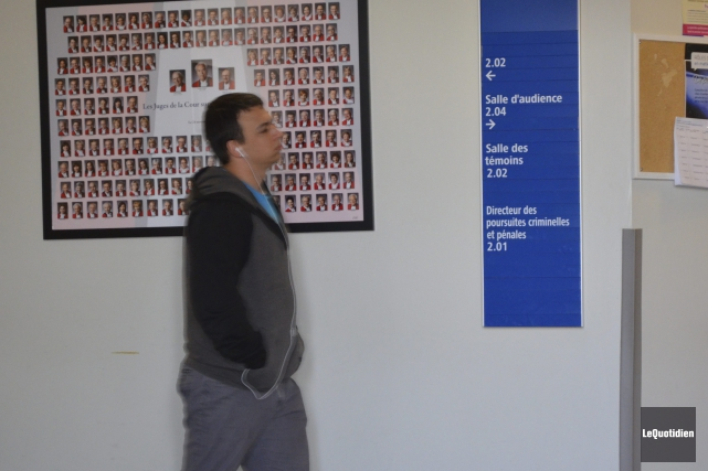 Jean-François Cantin va purger une peine minimale d'un... (Photo Le Quotidien, Louis Potvin)