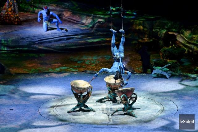 Toruk du Cirque du Soleil, inspiré du mégasuccès... (Photothèque Le Soleil, Erick Labbé)