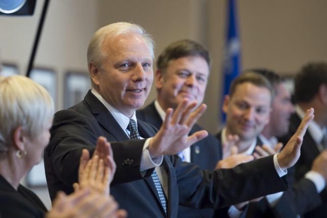 Le chef du PQ, Jean-François Lisée... (Archives, La Presse canadienne)