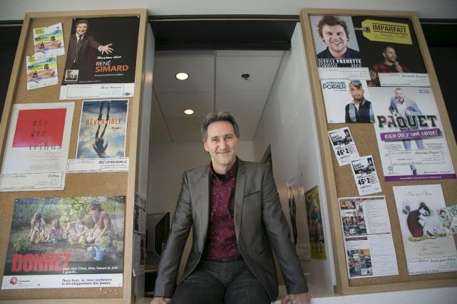 C'est avec fierté que Mario Trépanier, directeur artistique... (Spectre Média, René Marquis)