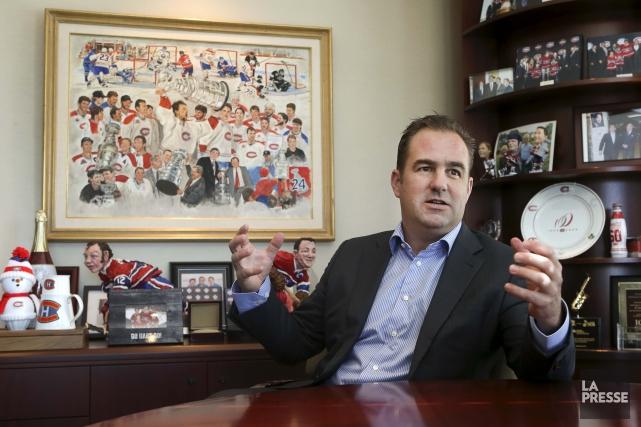Selon Geoff Molson, si le Canadien a l'image... (La Presse, Robert Skinner)