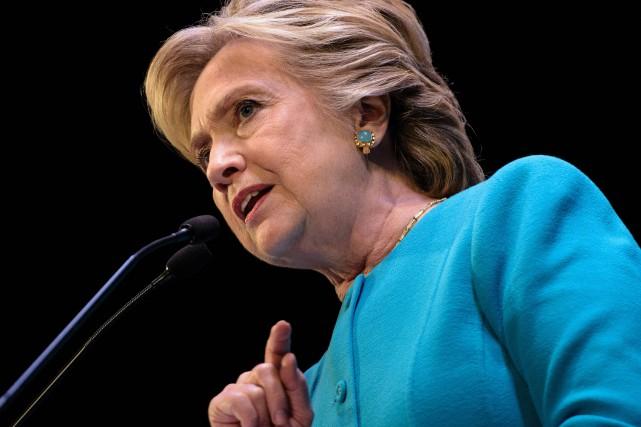 Hillary Clinton... (Photo Brendan Smialowski, archives Agence France-Presse)