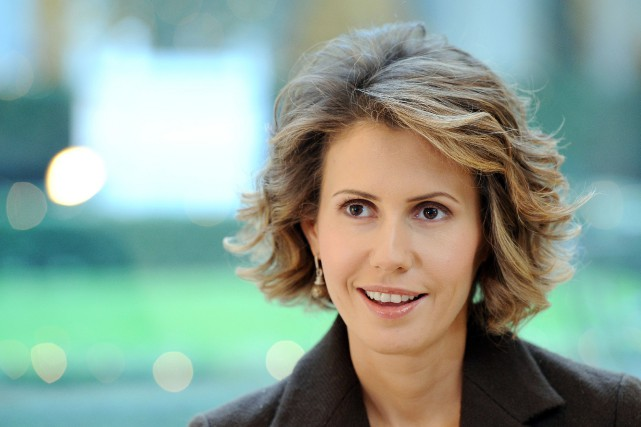 Asma al-Assad... (Photo Miguel Medina, archives Agence France-Presse)