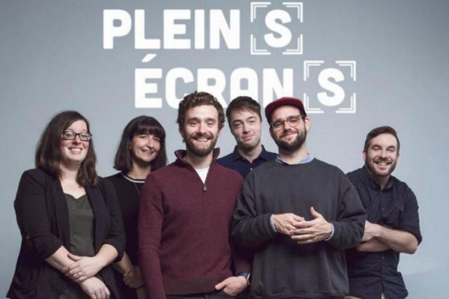 L'équipe de Plein(s) écran(s) (de gauche à droite):Julie... (PHOTO FOURNIE PAR PLEIN(S) ÉCRAN(S))