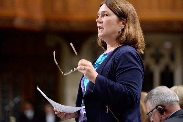 La ministre fédérale de la Santé Jane Philpott.... (Adrian Wyld, archives PC)