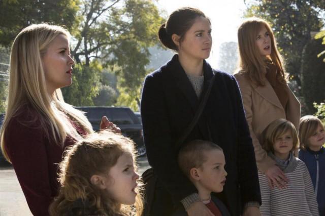 Reese Witherspoon, Shailene Woodley et Nicole Kidman dans... (Photo fournie par HBO)