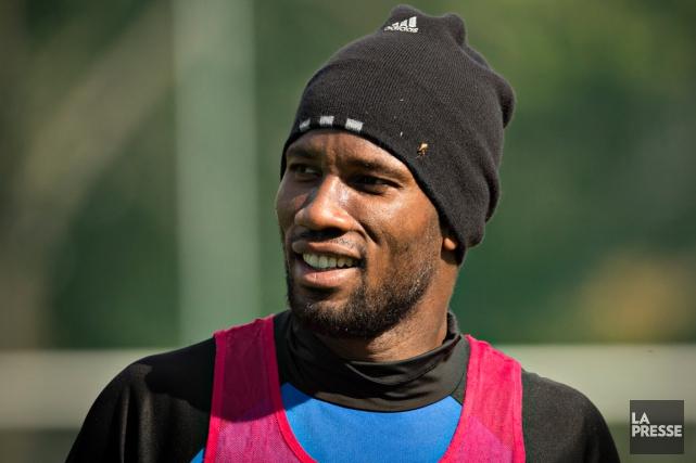 Frustré d'être écarté du onze partant, Didier Drogba... (Photo Olivier Jean, La Presse)