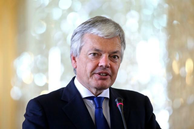 Didier Reynders est levice-premier ministre et ministre des... (Photo Ebrahim Noroozi, Archives Associated Press)