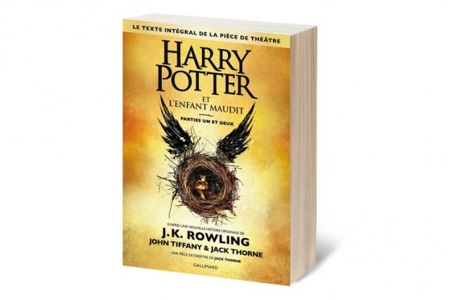 La pièce de théâtre Harry Potter et l'enfant maudit (Gallimard), sorti... (CAPTURE D'ÉCRAN)