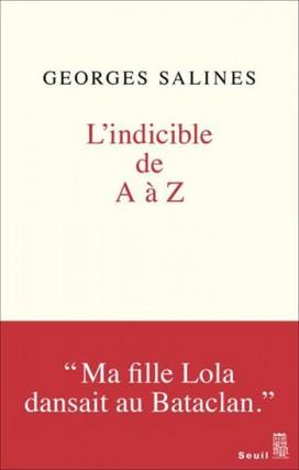 L'indicible de A à Z, de Georges Salines... (Image fournie par leSeuil)